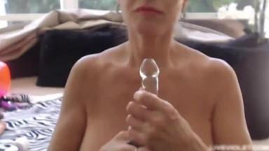 Gorgeous busty mature pornstar Rita Daniels