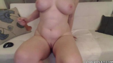 Red headed Scarlett Belle with big boobs ass fucking