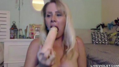 Squirting XXX legend Nikki Charm with sexy glasses