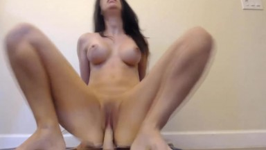 Dirty talking cheating wife Joscelyn moans and gets cum