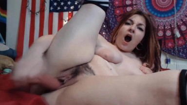 Sweet little redheaded slut ready to suck & fuck her way