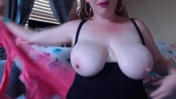 Blue eyed busty hairy MILF Aubrey wants to get naughty