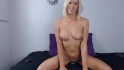 Magnificent blond MILF Hillary Holmes with great breasts