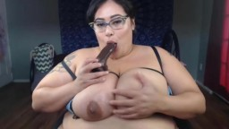 BBW XXX star Veruca Darling with blow jobs nice and messy