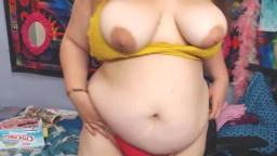 Dirty talking screamer BBW Opal Skye who loves teasing