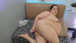 Sweet BBW Mary prefers you to sit back and watch her cum